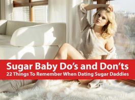 Sugar Baby Dos and Donts