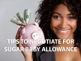 Tips To Negotiate For Sugar Baby Allowance